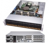 Supermicro AMD EPYC A+ Server 2113S-WN24RT Single Socket, 24x NVME, 2x 10GBase-T LAN